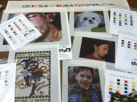 Photo Needlepoint Portraits and Other Fun Projects!